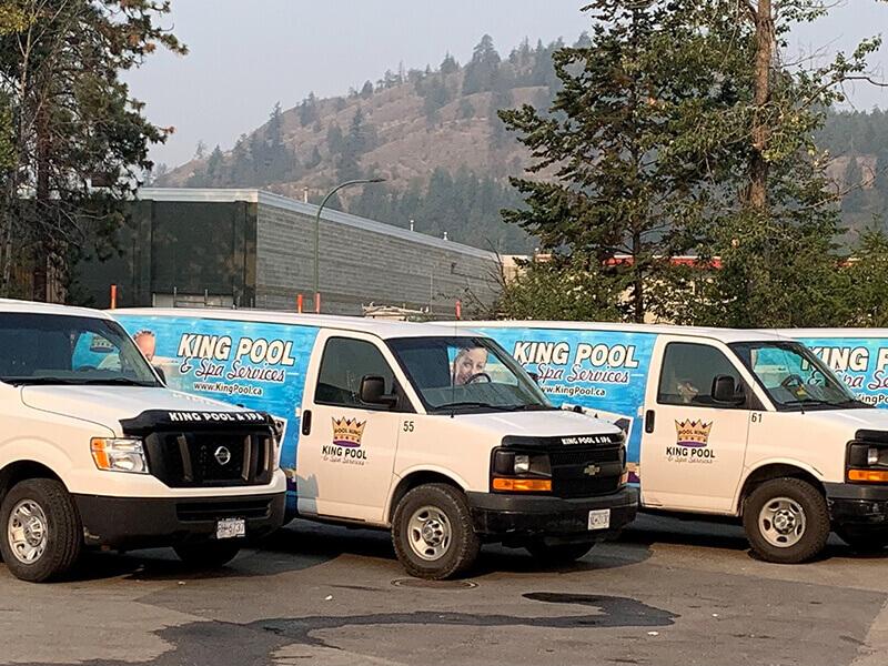 King Pool Vans