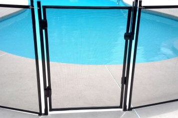Protect A Fence Gate