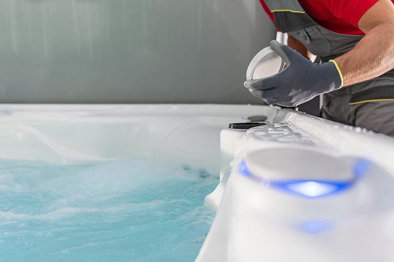 Kelowna hot tub filter